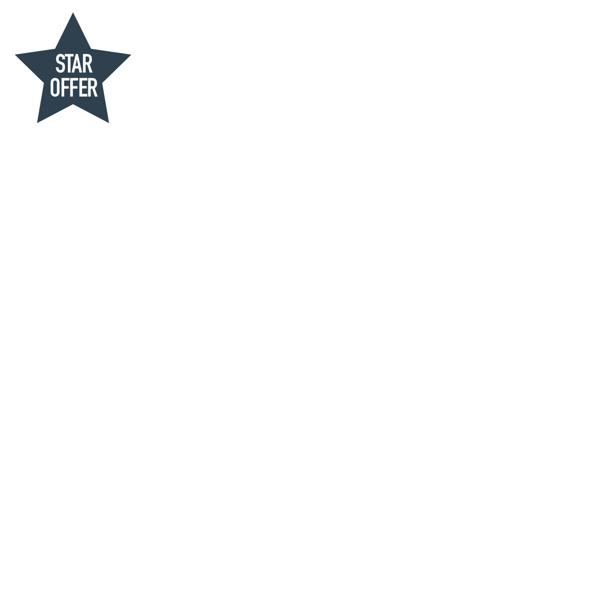 GTN Word Logo T-Shirt - Blue & Silver