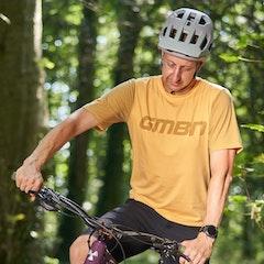 GMBN Traverse Tech T-Shirt Short Sleeve - Yellow
