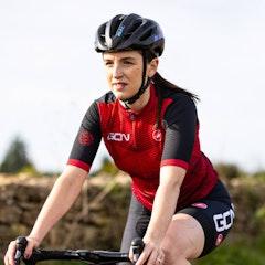 GCN Castelli Women's Competizione 2 Red Diamond Jersey