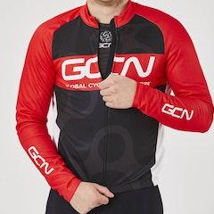 GCN Fan Kit Winter Jersey - Black & Red