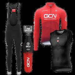 GCN Winter Warrior Castelli Kit Gift Bundle
