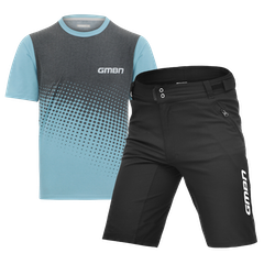 GMBN Short Sleeve Traverse Tech Tee & Shorts Bundle