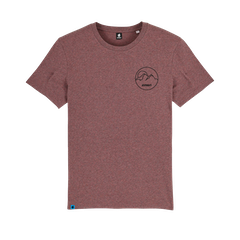 EMBN Adventure Outline Cranberry T-Shirt