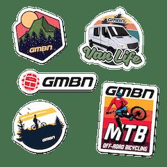 GMBN Adventure Sticker Pack