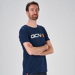 T-shirt Belgio - blu marina