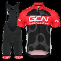 GCN Complete Fan Kit Bundle - Black & Red