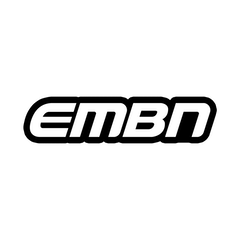 EMBN White Word Logo Sticker