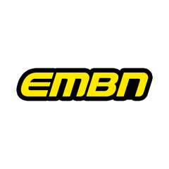 EMBN Yellow Word Logo Sticker