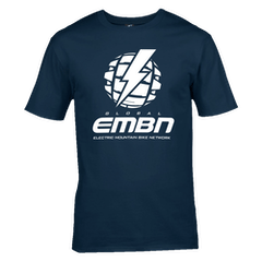 EMBN Classic T-Shirt - Navy & White
