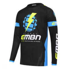 EMBN Team Jersey Long Sleeve - Black & Blue