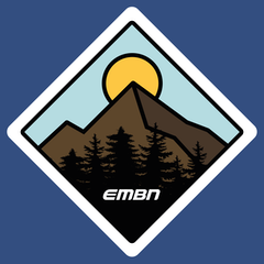 EMBN Adventure Mountain Sticker