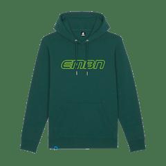 EMBN Outline Varsity Green Hoodie