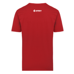 EMBN T-Shirt - Red & White