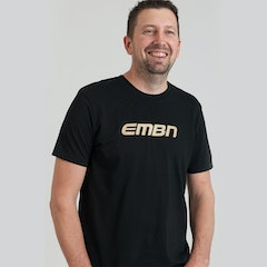 EMBN Word Logo T-Shirt - Black & Gold