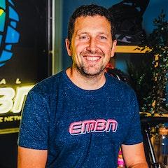 EMBN Outline Denim T-Shirt
