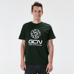 GCN Classic T-Shirt - Forest Green & White