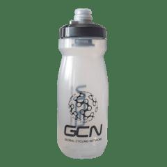 GCN Water Bottle - Clear Black