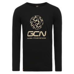 GCN Classic Long Sleeve T-Shirt - Black & Gold