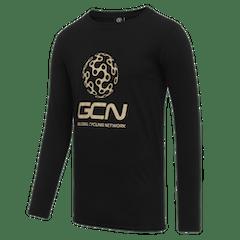 GCN Classic Long Sleeve T-Shirt - Black & Gold