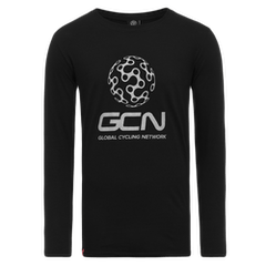 GCN Classic Long Sleeve T-Shirt - Black & Silver