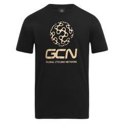 GCN Classic T-Shirt - Black & Gold