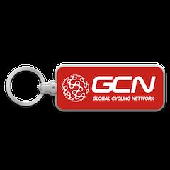 GCN Globe Logo Keychain