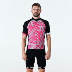 GCN Explore Fan Jersey - Grey & Pink