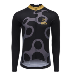 GCN Fan Kit Long Sleeve Jersey - Black & Gold