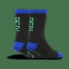 GCN Fan Kit Socks - Blue & Green