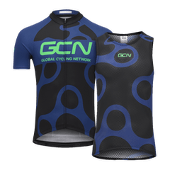 GCN Jersey & Baselayer Bundle - Blue & Green