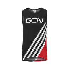 GCN Stripes Baselayer - Red & Black