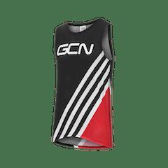 GCN Women's Stripes Baselayer - Red & Black