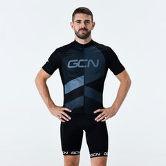 GCN Strive Fan Jersey - Black & Grey