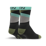 GCN Strive Socks - Black & Green