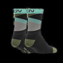 GCN Strive Socks - Black & Green