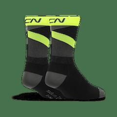 GCN Strive Socks - Black & Yellow