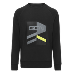 GCN Strive Sweatshirt - Black & Yellow
