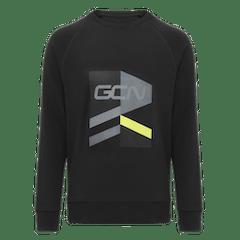 GCN Strive Sweatshirt - Black & Yellow