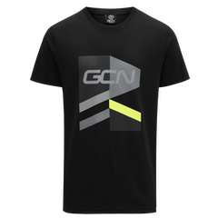 GCN Strive T-Shirt - Black & Yellow