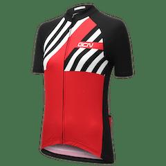 GCN Complete Women's Stripes Bundle - Red & Black
