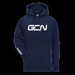 GCN Organic Hoodie - Navy Blue & White