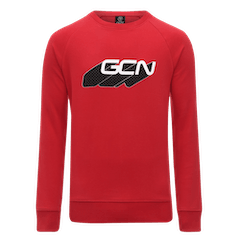 GCN Word Shadow Sweatshirt - Red & White