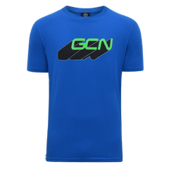 GCN Word Shadow T-Shirt - Blue & Green