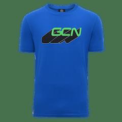 GCN Word Shadow T-Shirt - Blue & Green