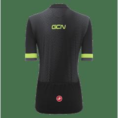 GCN Castelli Women's Competizione 1 Lime Stripe Jersey