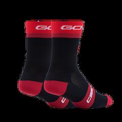 GCN Castelli Red Diamond Rosso Corsa Socks