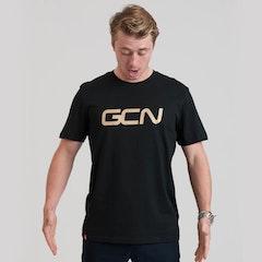 GCN Word Logo T-Shirt - Black & Gold