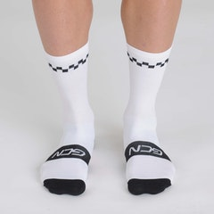 GCN Contrast Edition Socks - White