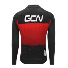 GCN Core Red Long Sleeve Jersey