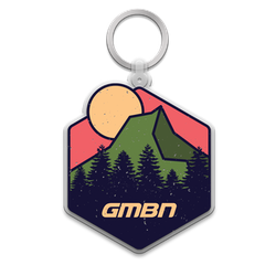 GMBN Adventure Mountain Keychain
